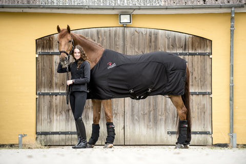 CATAGO FIR-tech Healing rug - Black Only - Divine Equestrian