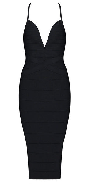 Tanya - Bleu Luxury - Dresses - Extra Small / Black - 3