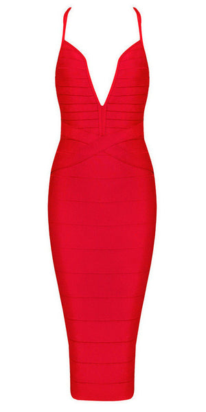 Tanya - Bleu Luxury - Dresses - Extra Small / Red - 5