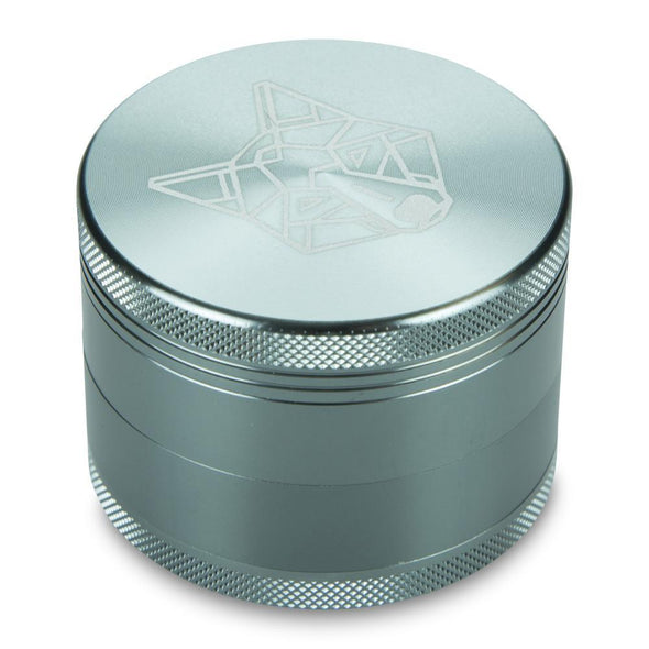 "4 Part 2.5"" Aircraft Aluminium Grinder with Sifter - Vape Monster City"