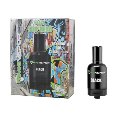 Black Sub-Herb: The Dry Herb and Dabs Tank - Vape Monster City