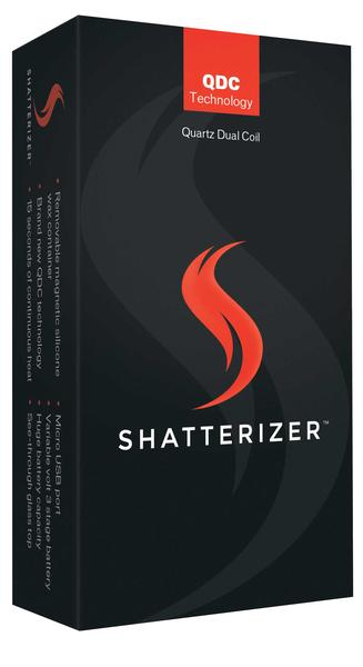 Shatterizer Concentrate Vaporizer - Vape Monster City