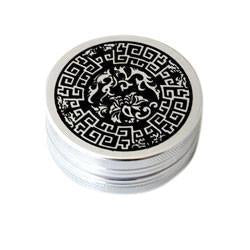 2-Part Aluminium Grinder Celtic Design - Vape Monster City