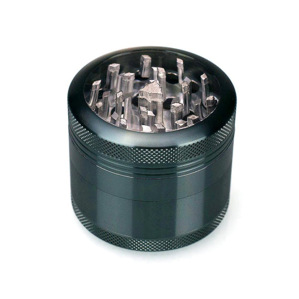 4-Piece Clear Top Herb Grinder Sifter - Vape Monster City