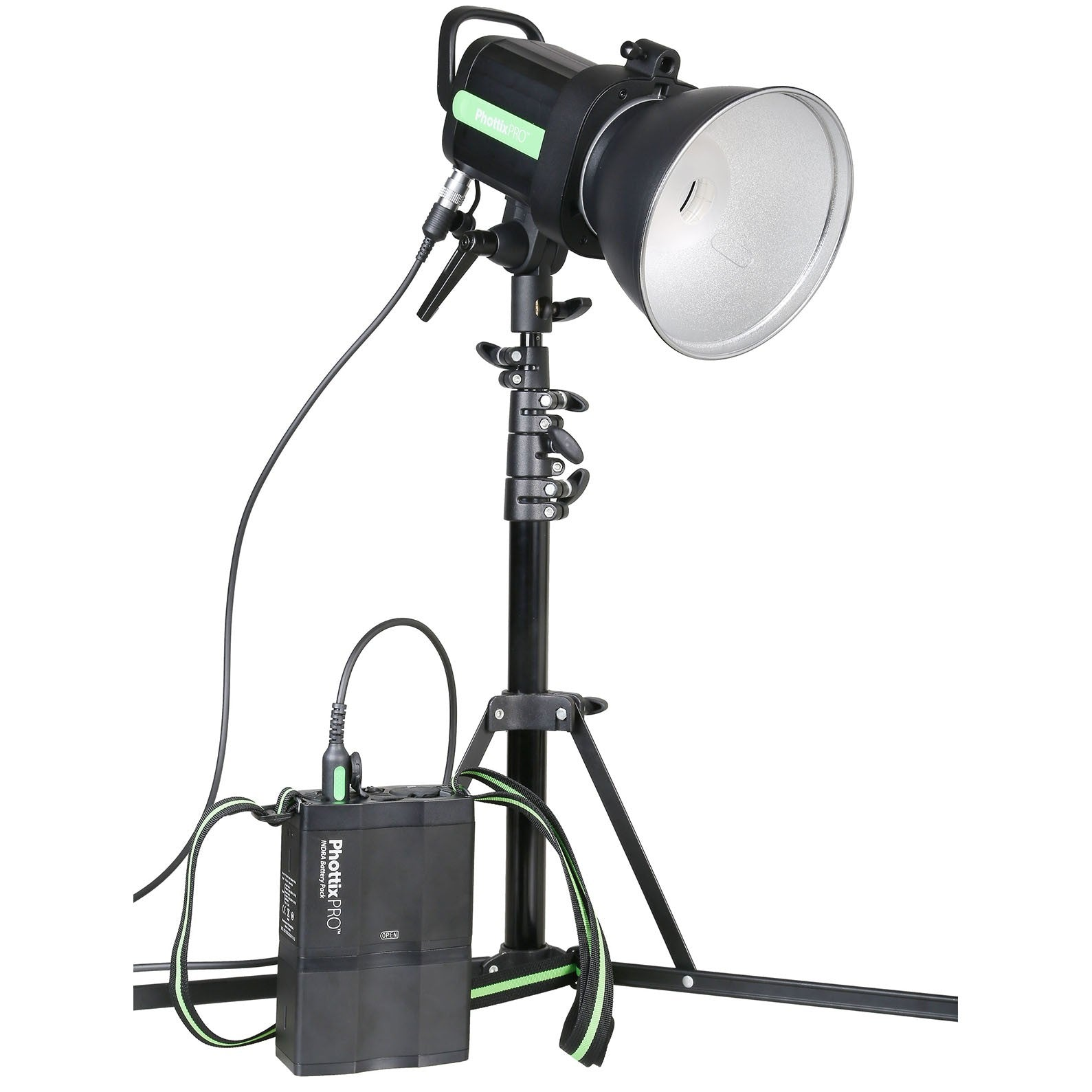 Phottix Indra 500 TTL Monolight and Battery Kit