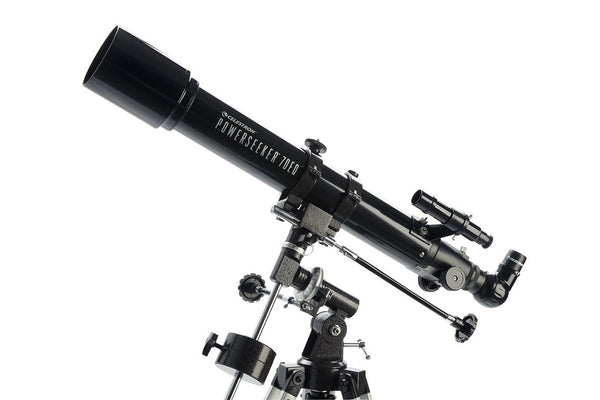 Celestron PowerSeeker 70EQ Telescope - Telescopes - Celestron - Helix Camera