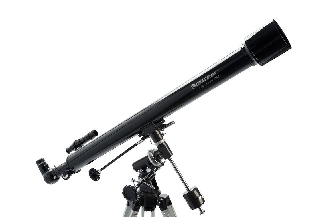 Celestron PowerSeeker 60EQ Telescope - Telescopes - Celestron - Helix Camera