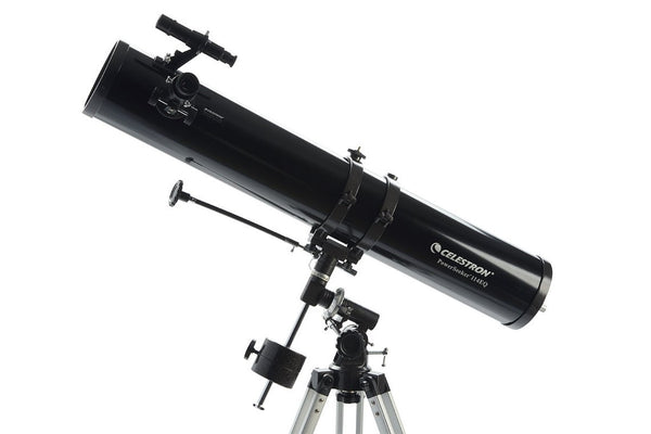 Celestron PowerSeeker 114EQ Telescope - Telescopes - Celestron - Helix Camera