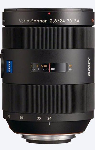 Used Sony 24-70mm f2.8 Carl Zeiss A-Mount Lens