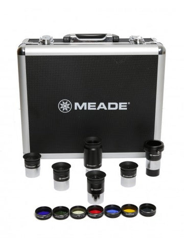 Meade Series 4000 1.25 Plossl Eyepiece(5) and Filter(6) Set - Telescopes - Meade - Helix Camera
