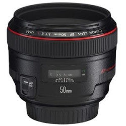 Canon EF 50mm f/1.2L USM - Photo-Video - Canon - Helix Camera