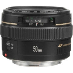 Canon EF 50mm f/1.4 USM - Photo-Video - Canon - Helix Camera