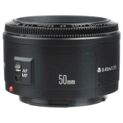 Canon EF 50mm f/1.8 II - Photo-Video - Canon - Helix Camera