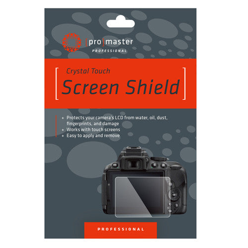 ProMaster Crystal Touch Screen Shield - Canon 5D Mark IV - Photo-Video - ProMaster - Helix Camera