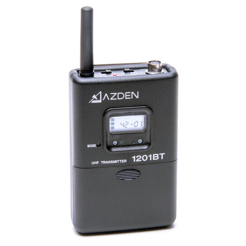Azden 1201 Series Transmitter (1201BT) - AUDIO - Azden - Helix Camera