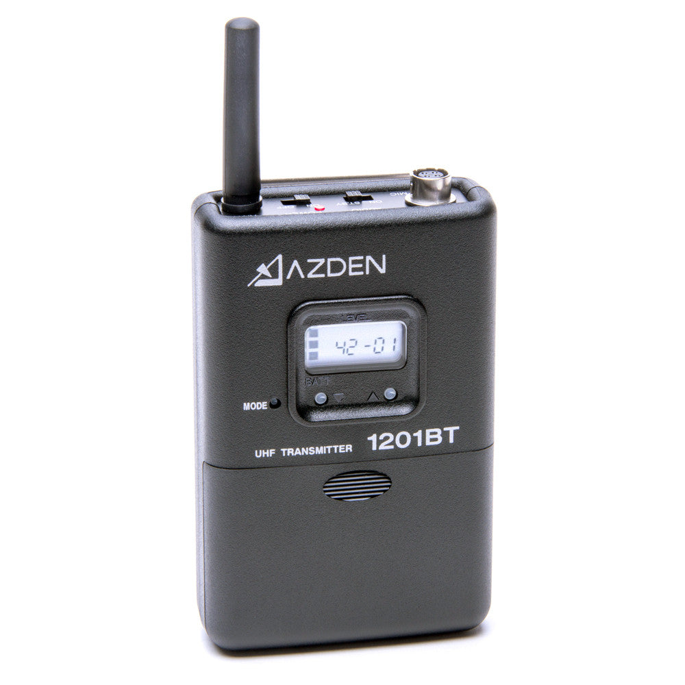 Azden 1201 Series System (1201VMT) - AUDIO - Azden - Helix Camera