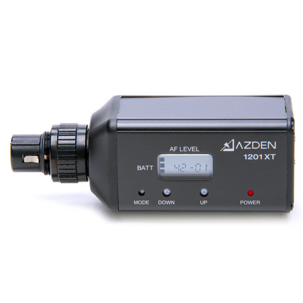 Azden 1201 Series System (1201VMX) - AUDIO - Azden - Helix Camera