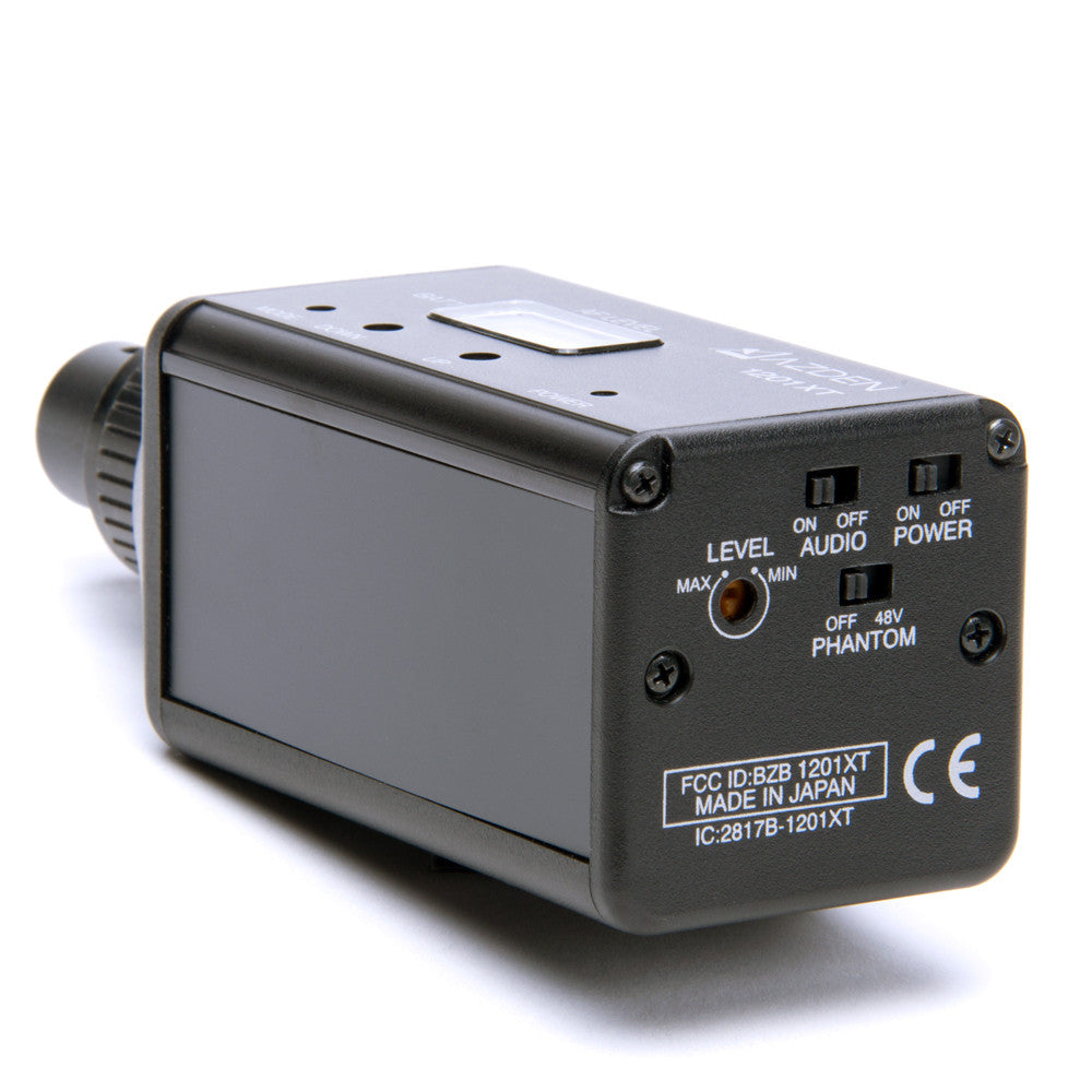 Azden 1201 Series Transmitter (1201XT) - AUDIO - Azden - Helix Camera
