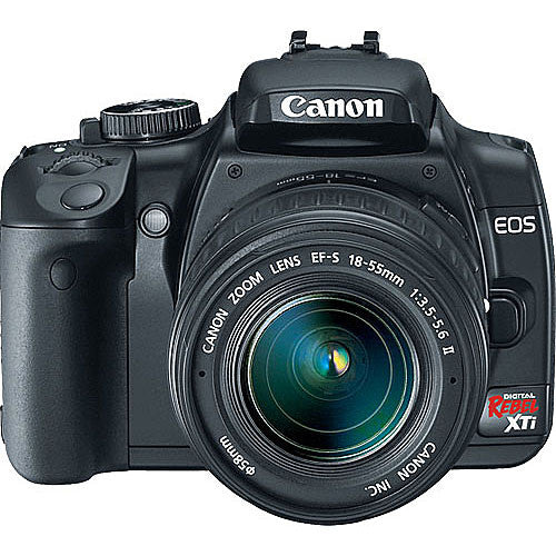 Used Canon EOS Rebel XTi with 18-55mm f3.5-5.6 IS