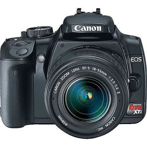 Used Canon EOS Rebel XTi with 18-55mm f3.5-5.6 II