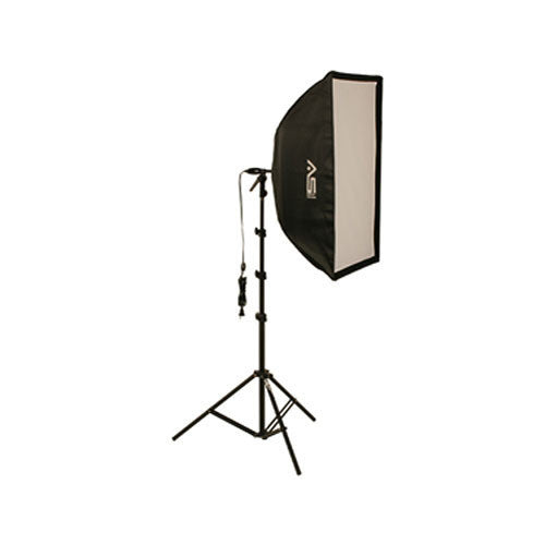 Smith Victor KSB-500F 1-Light 300-watt Fluorescent Economy SoftBox Light  Kit  (402370) - Lighting-Studio - Smith-Victor - Helix Camera