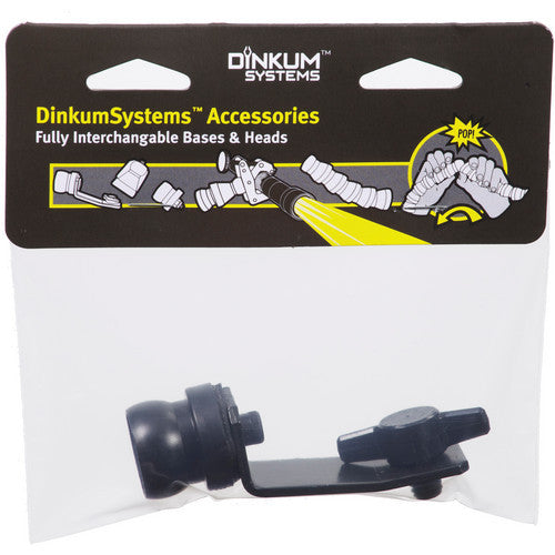 Dinkum Systems Fixed Base Mount, 3/8-16""