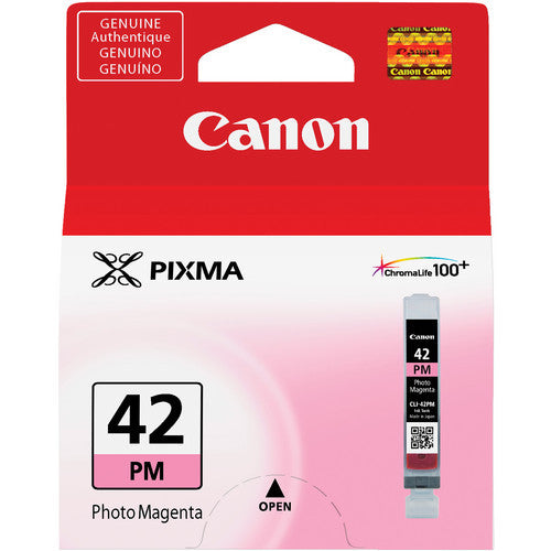 Canon CLI-42 PHOTO MAGENTA Ink Cartridge (6389B002) - Print-Scan-Present - Canon - Helix Camera