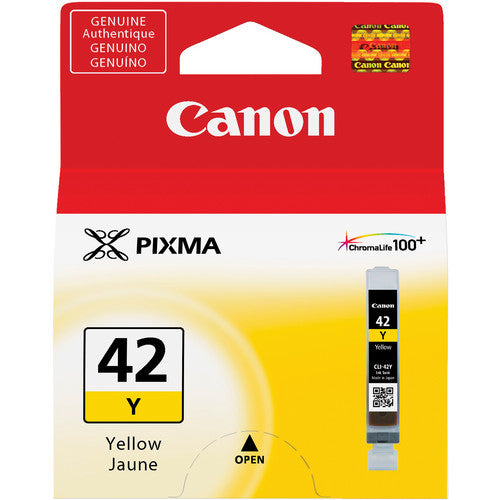 Canon CLI-42 YELLOW Ink Cartridge (6387B002) - Print-Scan-Present - Canon - Helix Camera