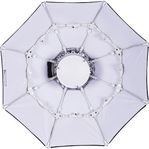 "Interfit 100cm ( 40"") White Foldable Beauty Dish - with Bowens  S-Mount (INT783)"