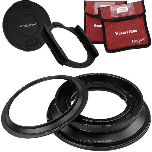 Fotodiox WonderPana Absolute Core Unit for the Canon 14mm Super Wide Angle EF f/2.8L II USM Lens - 130mm Adapter Ring