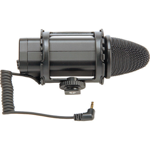 Smith Victor SM1 Stereo microphone w/ shock mount (401820) - Audio - Smith-Victor - Helix Camera
