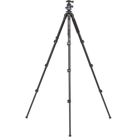 Benro Adventure AL Series 2 Tripod Kit, 4 Section, Flip Lock, IB2 Head TAD28AIB2
