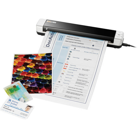 Plustek MobileOffice S410-G  Trade compliant mobile document scanner (PLS-783064645874) - Print-Scan-Present - Plustek - Helix Camera