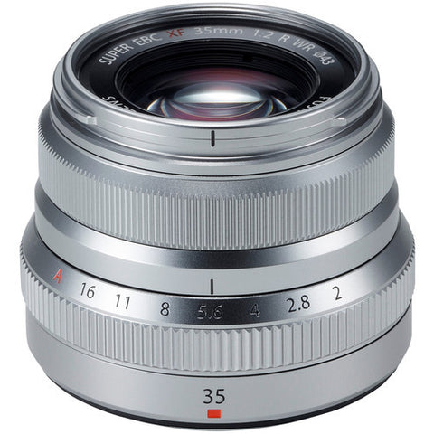 Fujinon XF 35mm f/2 R WR Lens (Silver) - Photo-Video - Fujifilm - Helix Camera