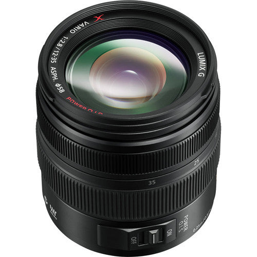 Panasonic Lumix G X Vario 12-35mm f/2.8 Asph. Lens (Black)
