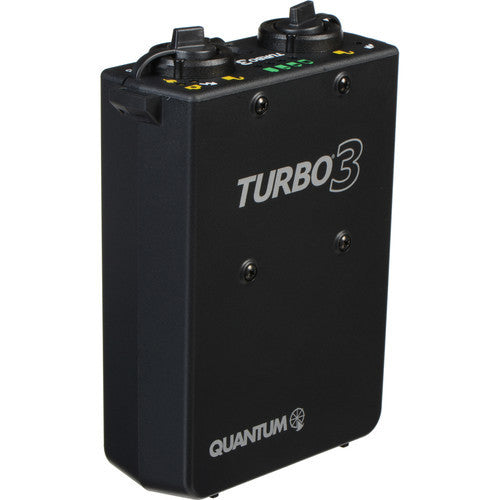 Quantum Turbo 3 Rechargeable Battery - Lighting-Studio - Quantum - Helix Camera