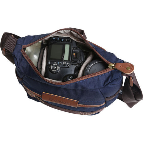 Vanguard Shoulder Bag (Blue) (Havana 21BL) - PHOTO-VIDEO - Vanguard - Helix Camera