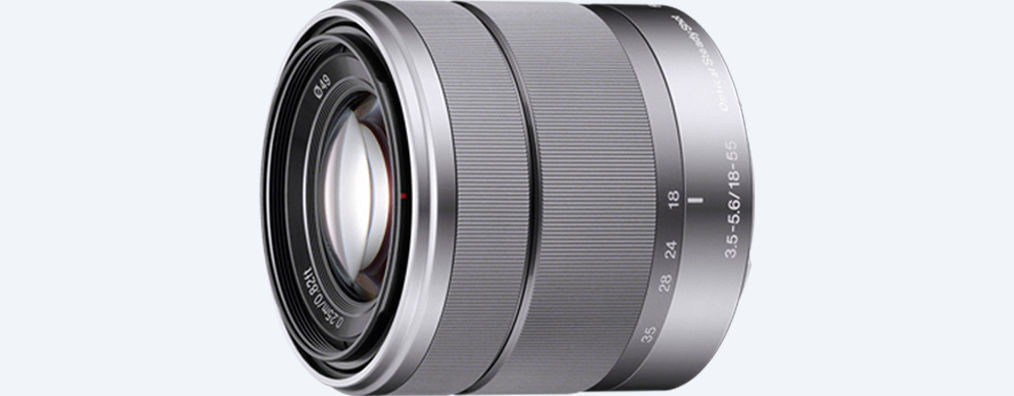 Sony E 18–55mm F3.5–5.6 OSS - Silver