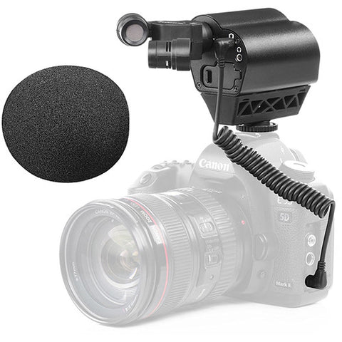 VMIC STEREO ON-CAMERA STEREO MICROPHONE FOR DSLRS, MIRRORLESS, VIDEO CAMERAS
