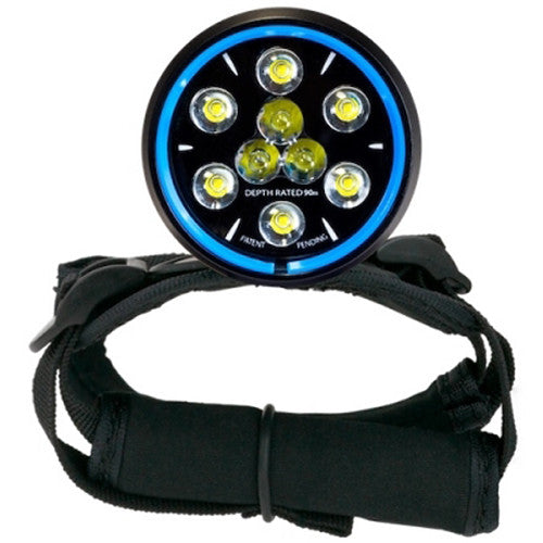 Light and Motion Sola Dive Light (1200-Lumens, Blue)