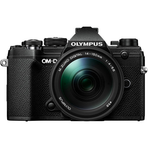 Olympus OM-D E-M5 Mark III Mirrorless Camera with 14-150mm - Black