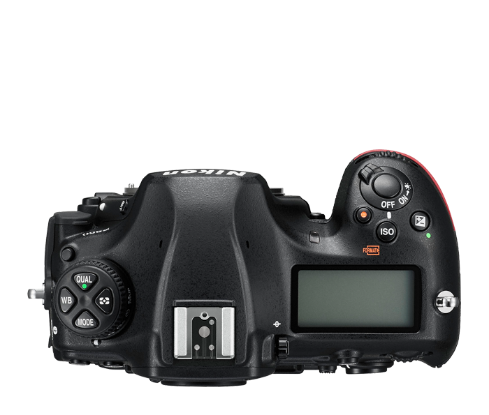 Top View Nikon D850 Camera Body