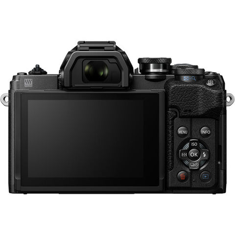 Olympus OM-D E-M10 Mark IV Mirrorless Camera Body only - Black