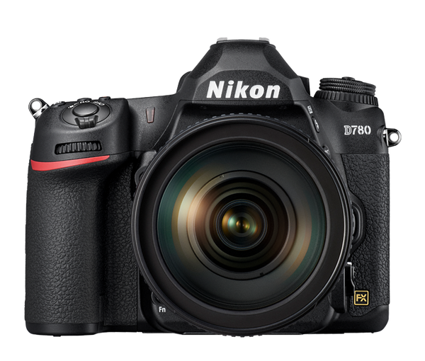 Nikon D780 FX DSLR with 24-120mm f4 VR