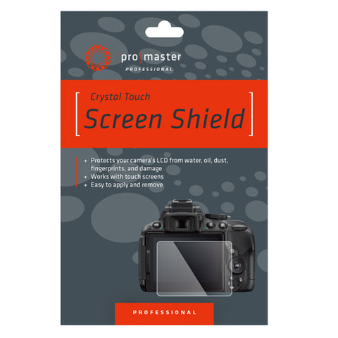 ProMaster Crystal Touch Screen Shield - Panasonic DCG9, GX85, GX80, GX7MKII, G85, LX15, LX10