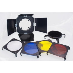 ProMaster 3-in-1 Barndoor Kit for 160A Studio Flash - Lighting-Studio - ProMaster - Helix Camera