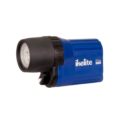 Ikelite PCa LED Waterproof Flashlight - Blue