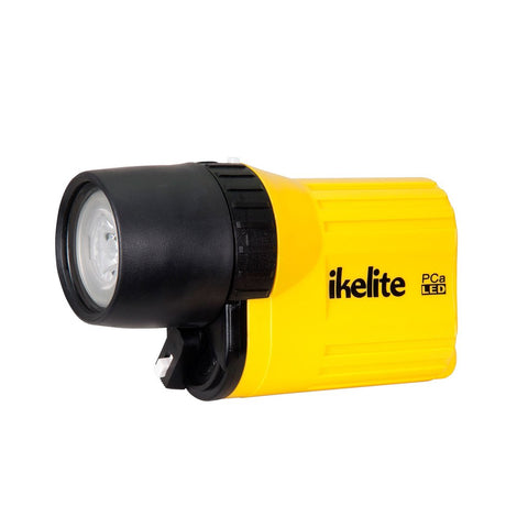 Ikelite PCa LED Waterproof Flashlight - Yellow