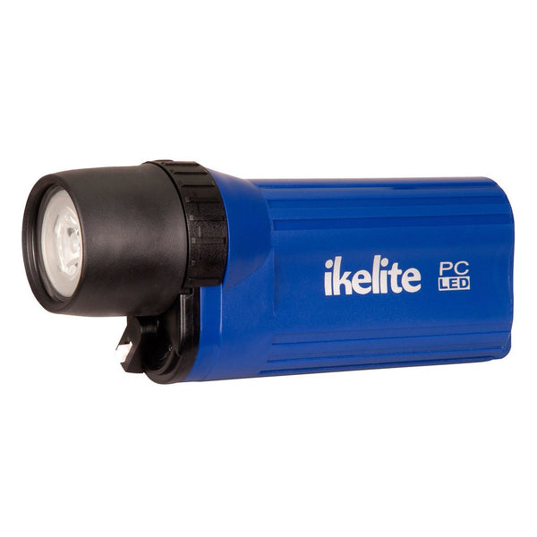 Ikelite PC LED Waterproof Flashlight - Blue