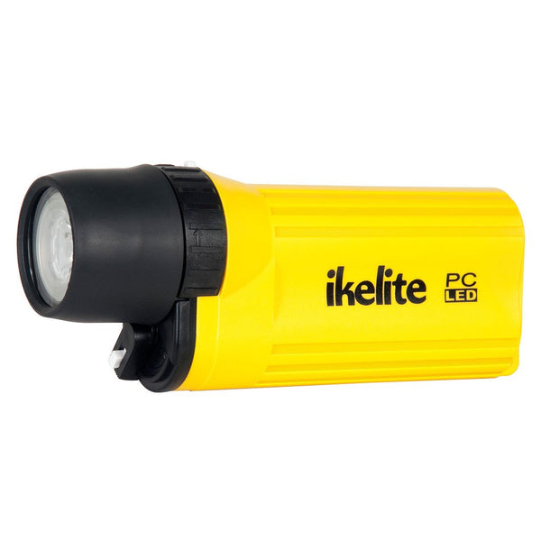 Ikelite PC LED Waterproof Flashlight - Yellow